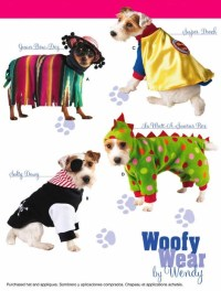 DOG Costume Sewing Pattern Woofy Wear Dogs Dinosaur Pirate