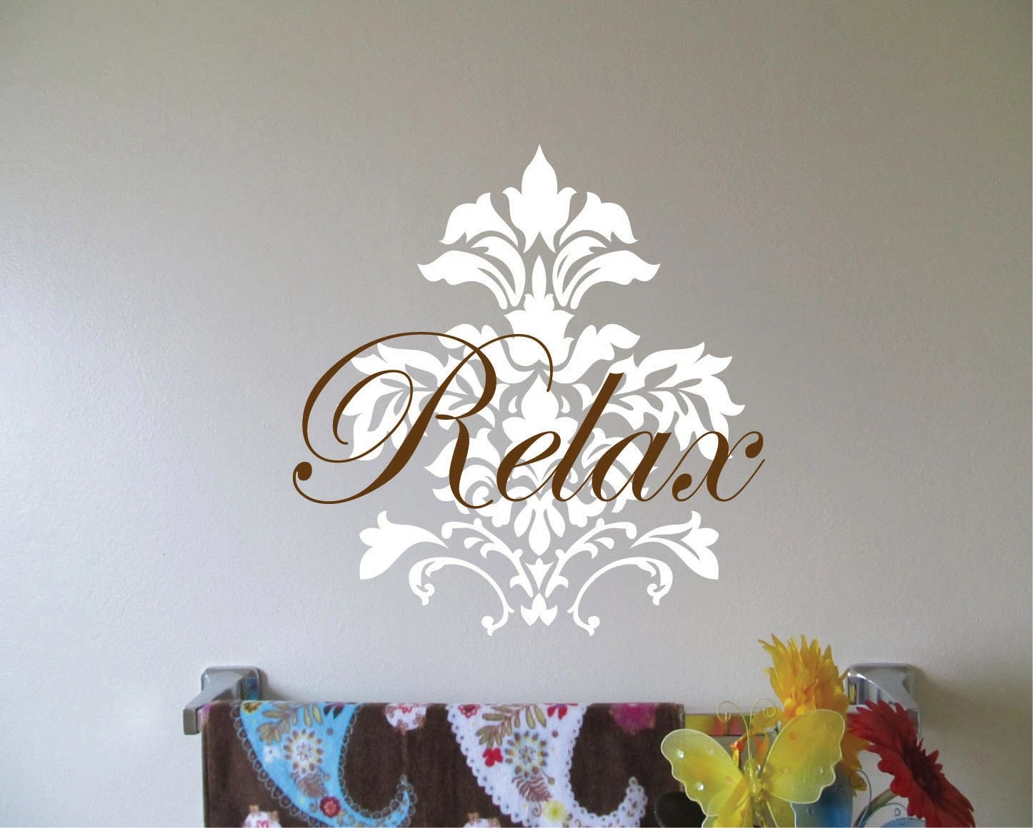 Items similar to Fleur de Lis Wall Decal