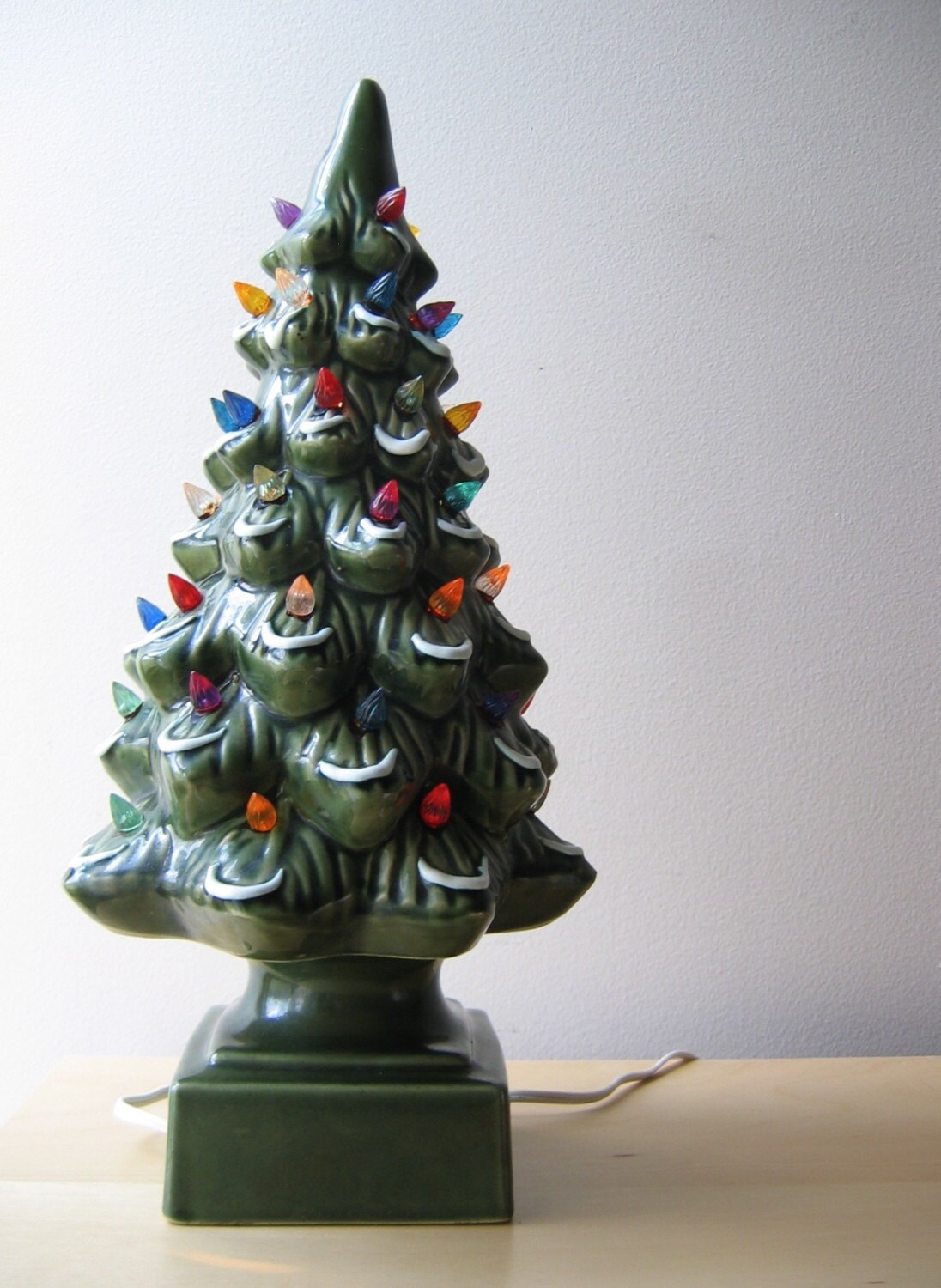 Ceramic Christmas Tree Light Bulb Wattage