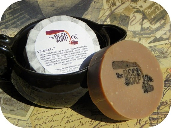 Vermont Beer Soap Made with Magic Hat No9