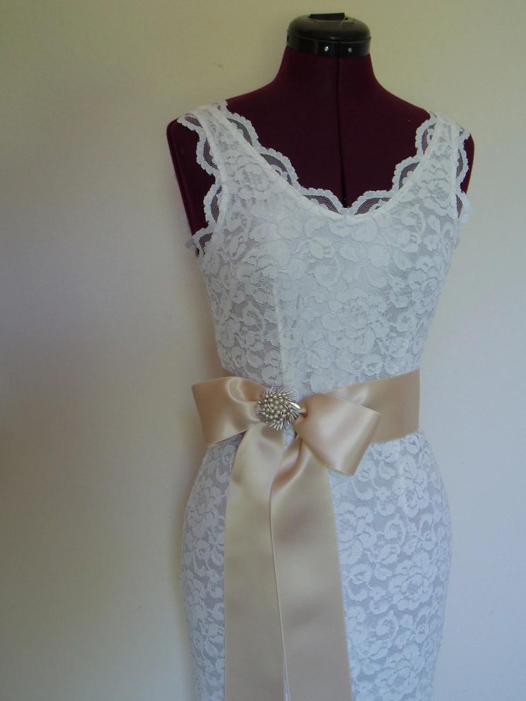 wedding chair sash accessories white folding chairs for weddings belts bridal ribbon sashes bridesmaid