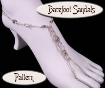 Pattern Hemp Barefoot Sandals Pdf Mystashedsupplies