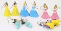Items similar to Disney Princess Earrings - Ariel Little ...