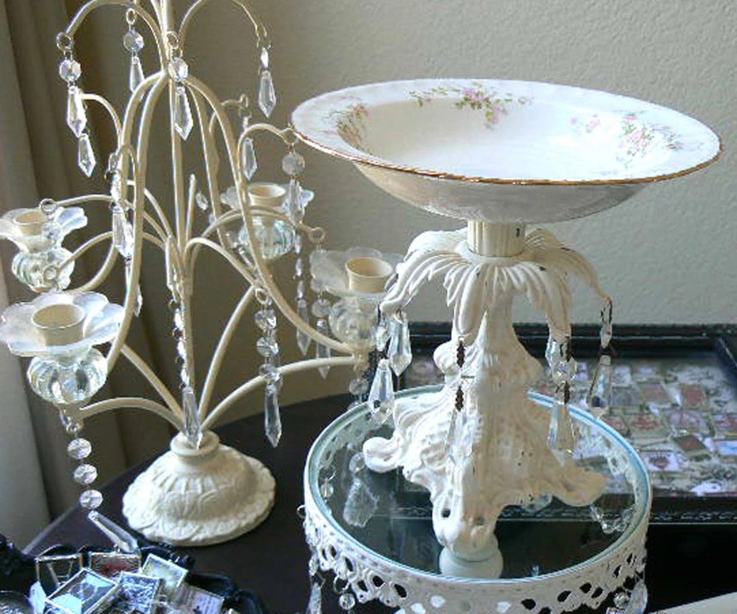 Upcycled And Repurposed Vintage China Bowl And By ShabbieChicHome