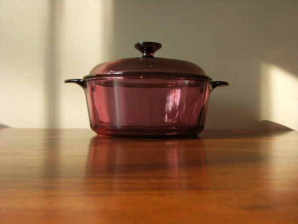 Corning Vision Cookware Casserole In Cranberry