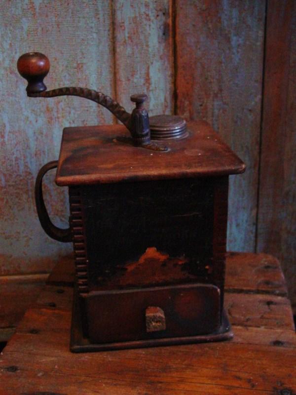 Antique 1800' Primitive Coffee Grinder