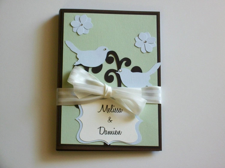 Custom Wedding Planner And Organizer-perfect Engagement Gift