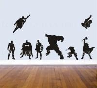 Super Hero: Super Hero Wall Decals