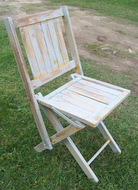 antique beach chair green swivel vintage folding sunday school wooden deck beachy