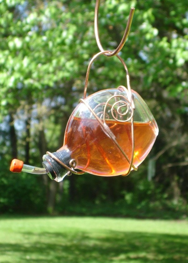 Stained Glass Hummingbird Feeder 1 Of 2 Deeluxdesign