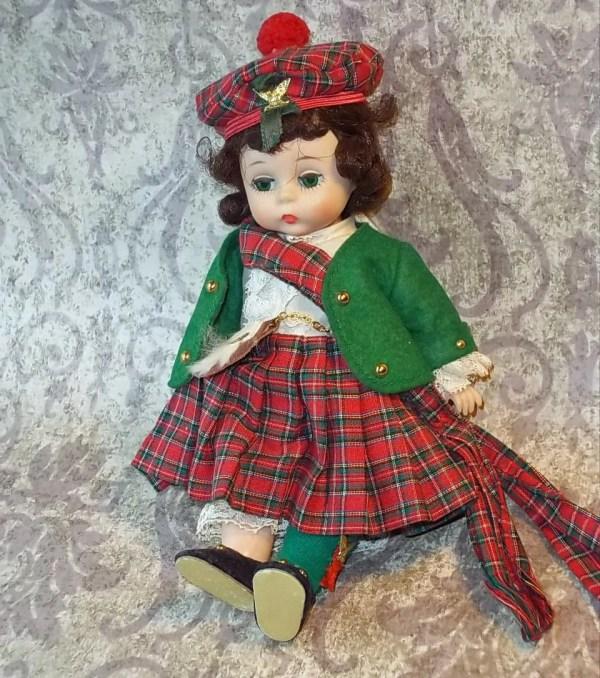 Vintage Madame Alexander Scottish Doll 8 International