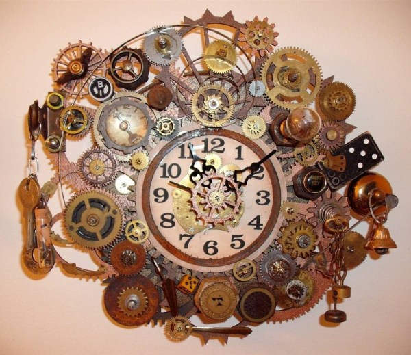 Steampunk Clock Erin Keck Clocks