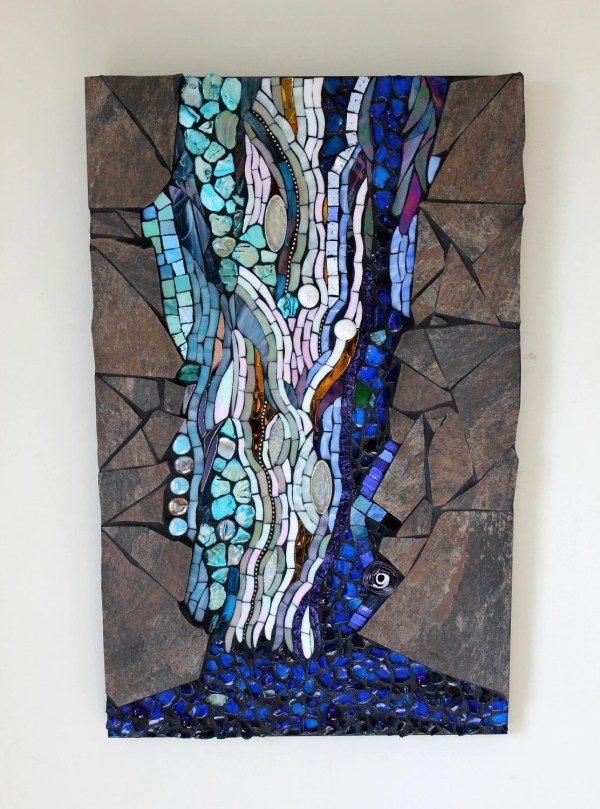 Water Stained Glass Mosaic