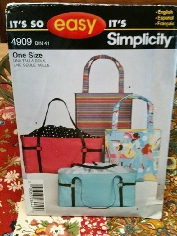 4909 Simplicity Pattern