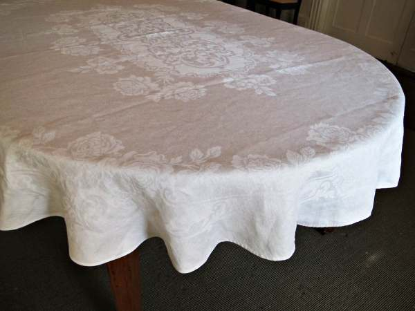 Oval Tablecloth Sizes for Tables