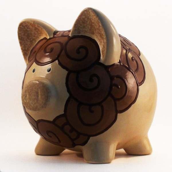 Ceramic Lion Piggy Bank Personalized Free Thepigpen