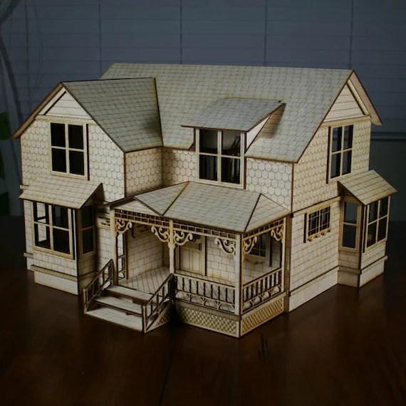 crockett victorian dollhouse kit