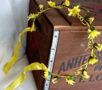 yellow wedding hair accessories yellow wedding hair ...