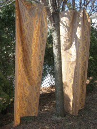 REDUCED...Vintage Curtains Drapes Two Old World by ...