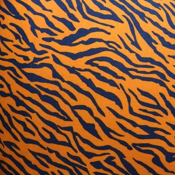 Tiger Stripe Print Twill Fabric 58 Inches Wide From