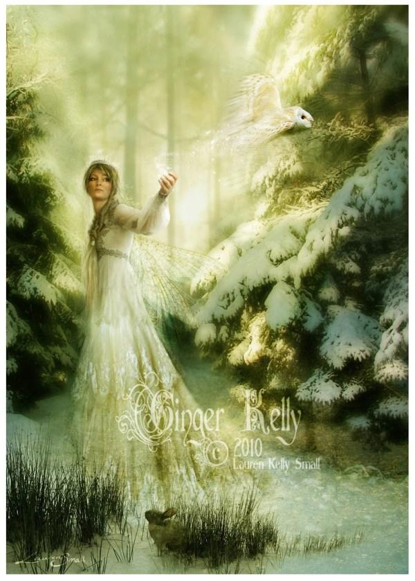 Winterspell 8 X 10 Fairy Tale Queen Gingerkellystudio