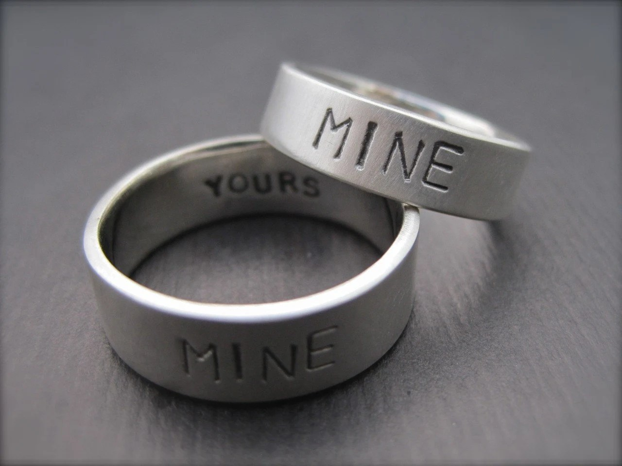 You're Mine I'm Yours Rings Sterling Silver Promise