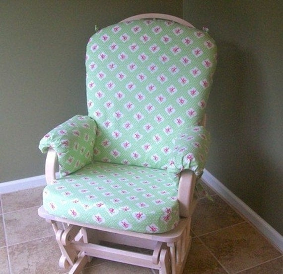 Items similar to Rocking Chair Slipcover  Custom Fitted