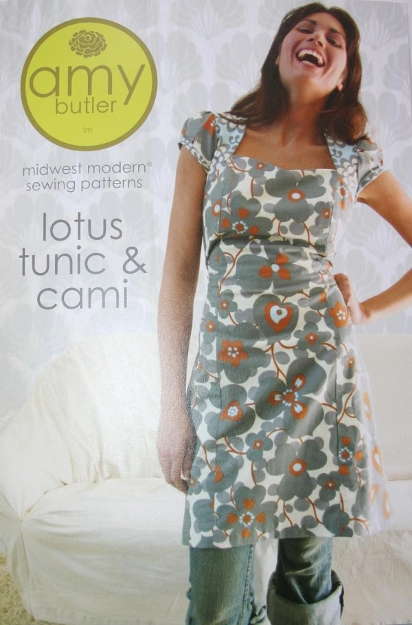 Lotus Tunic And Cami Sewing Pattern Amy Butler Free