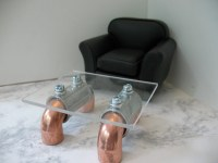 Steampunk Coffee Table RESERVED FOR MARIE Thank You