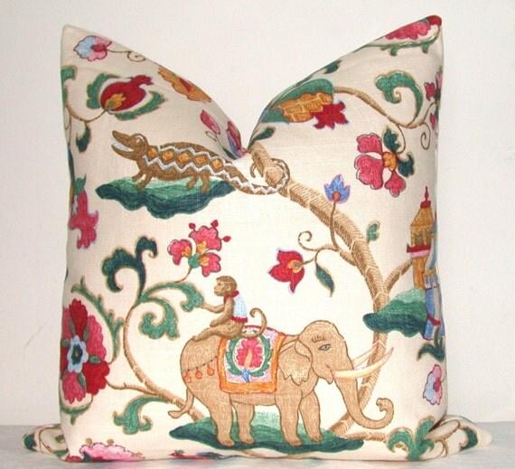 Monkey Pillow Decorative Pillow Throw Pillow Toss Pillow