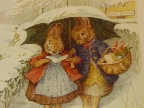 Beatrix Potter Illustration Bunnies Double Sided Color
