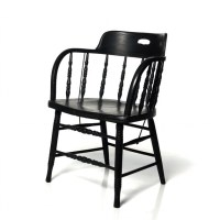 Items similar to Vintage Captain's Chair, Bentwood Pub ...