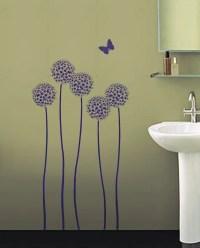 REUSABLE WALL STENCIL Allium Twins Sturdy by ...