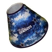 Dallas Cowboys Lamp Shade 4 x 7 x 11 Grey and by debbieshine