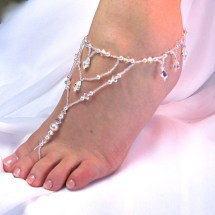 Wedding Foot Jewelry Barefoot Sandal Bridal Beach