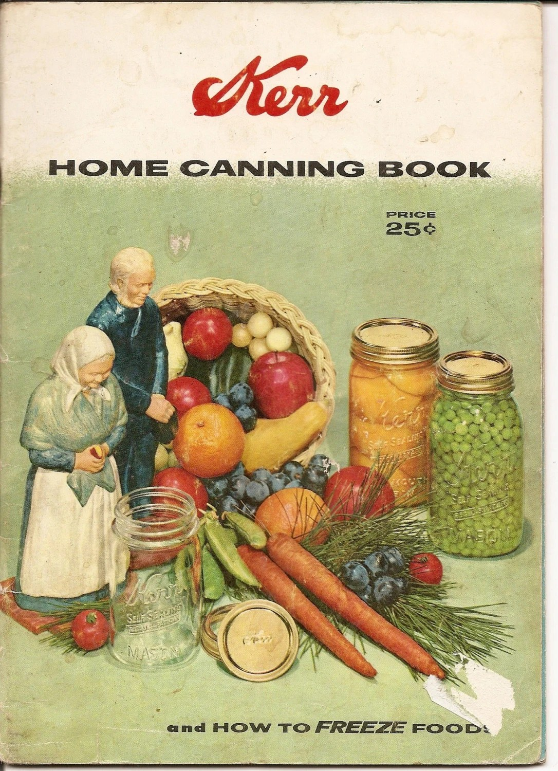 Kerr Home Canning Book Vintage 1958 Recipes By Nancesnostalgia