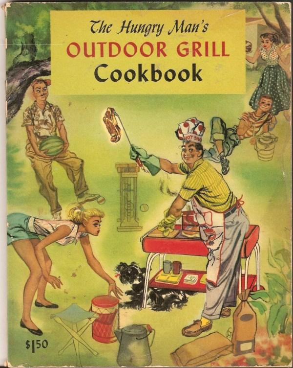 Vintage Outdoor Grill Cookbook Illustrated Nancesnostalgia