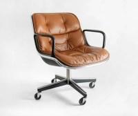 Items similar to Vintage Knoll Pollock Executive Armchair ...