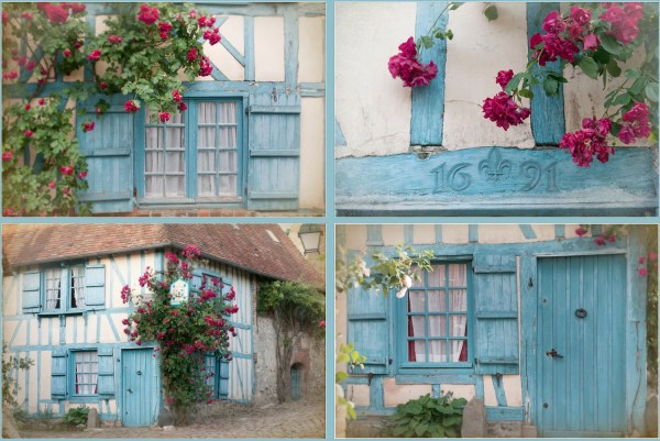 French Country Four Fine Art Cottage