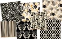 Items similar to Pair of Designer Custom Curtains Drapes ...