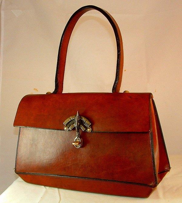 Vintage Equestrian Aigner Handbag Classic Saddle