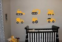 Construction Trucks Vinyl Wall Art Decal Sticker by decalfarm