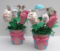Baby Shower Centerpieces For Girls | Party Favors Ideas