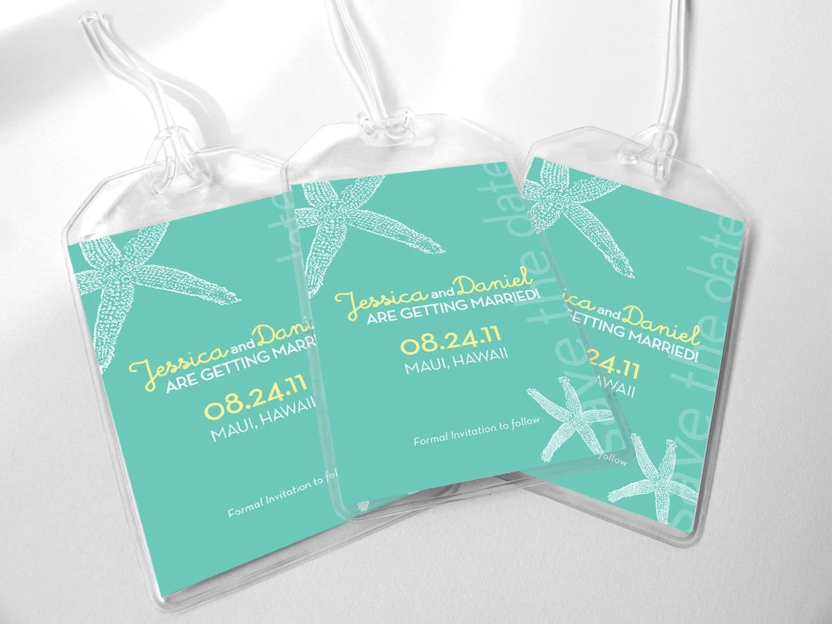 Announce Your Destination Wedding with Boarding Pass
