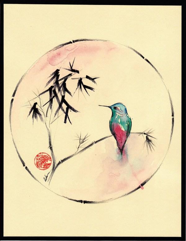 little muse original hummingbird