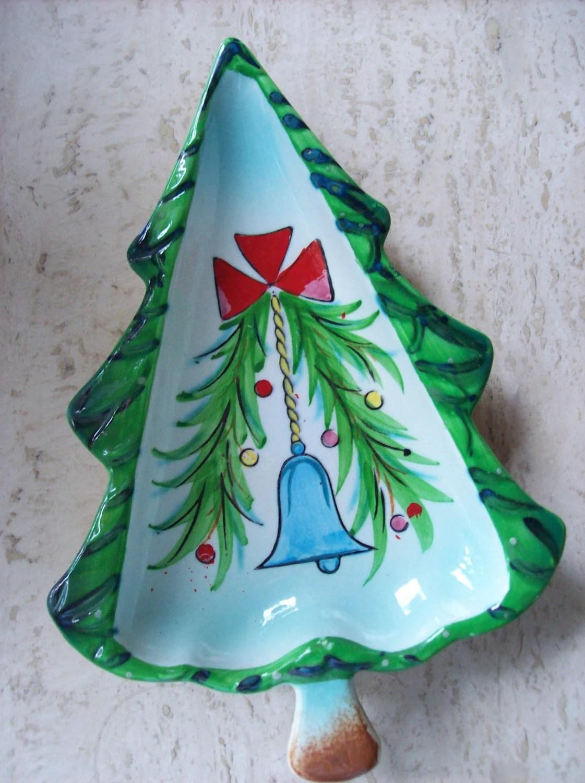 Vintage 1959 HOLT HOWARD Christmas Tree Dish