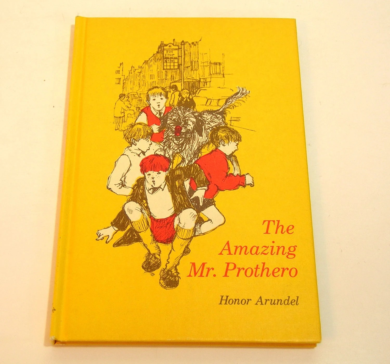 The Amazing Mr Prothero Vintage Childrens Book By