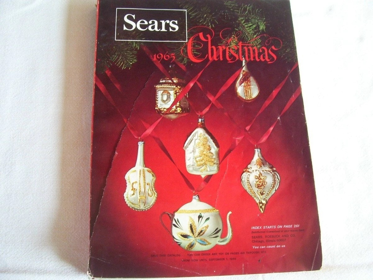 What Were Old Christmas Catalogs