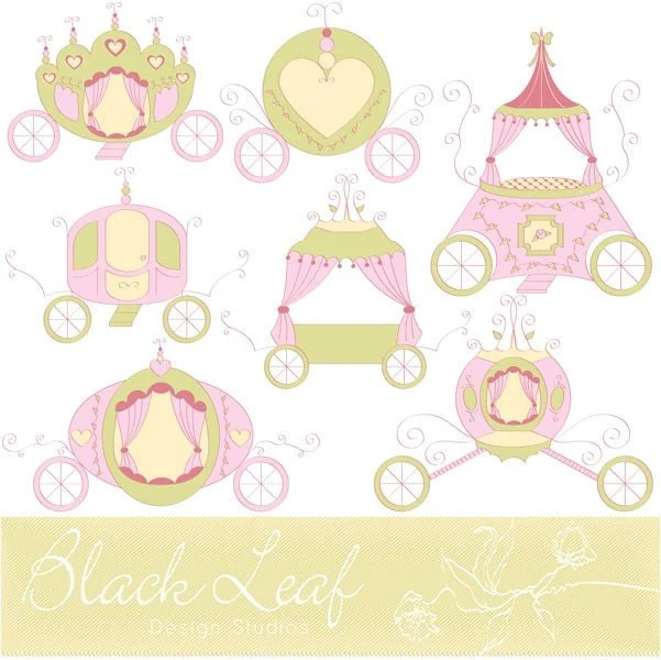Princess Themed Baby Shower Invitations