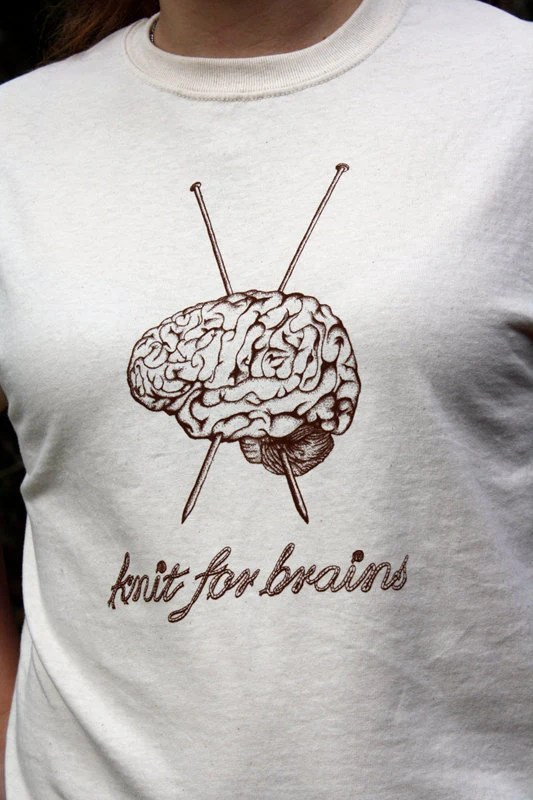 Knit for Brains T-Shirt
